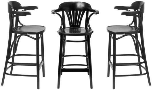 HND St Louis Thonet Bentwood Bar Stool Product Image