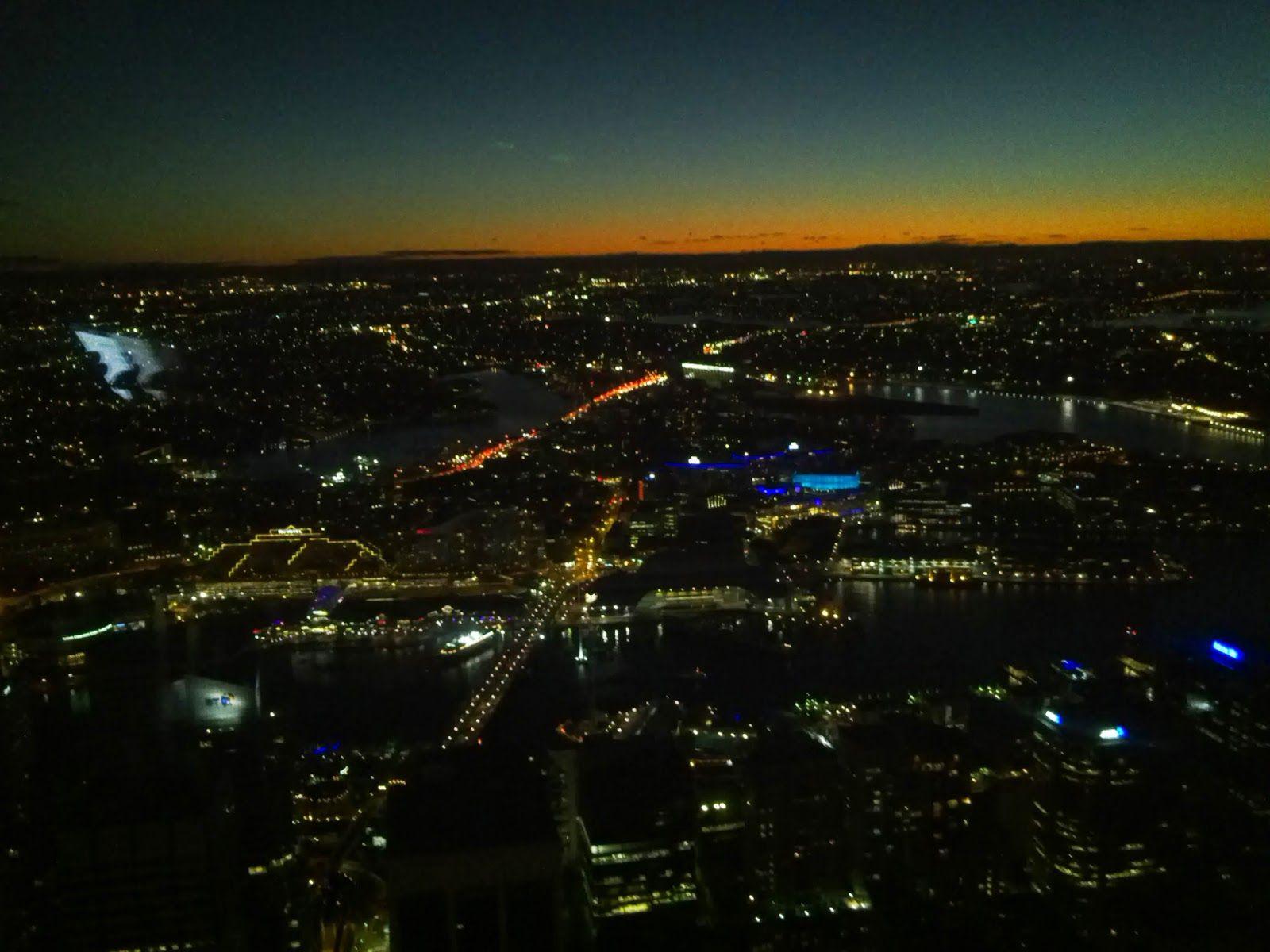 Sydney sight from Sydney Tower Eye - Australia