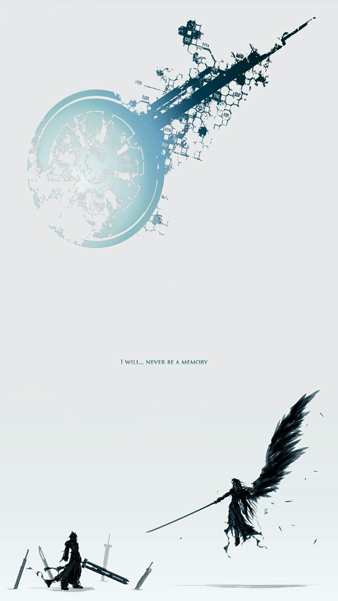 Final Fantasy Vii Lockscreen Wallpaper Final Fantasy Logo Final Fantasy Wallpaper Hd Final Fantasy Artwork
