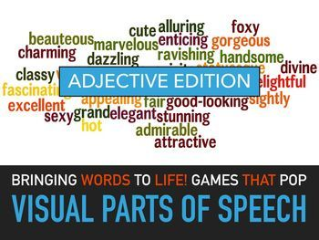 Adjectives Lesson Plans - English Lesson Plans - Parts of Speech Lesson Plans - Powerpoint Slides - ESL. This is a visual powerpoint adjectives lesson plan for elementary students that illustrates adjectives and gives examples of adjectives in sentences.