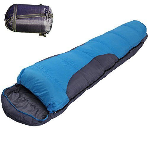 BOSON Outdoor Ultra Light Warm Winter Adult Sleeping Bag with Carry Bag for Camping Hiking *