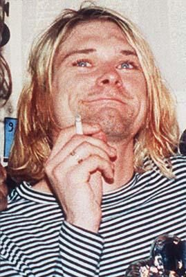 Lead singer of the US rock band Nirvana Kurt Cobain is shown in a 1993 file photo.Dolores dice ... Wash That Man Right Outta Your Hair10 Things You Didn't Know about Eva mendesCuidado Con El AngelBeverly Hills ChihuahuaShoes for Next Season  Photo: ASSOCIATED PRESS
