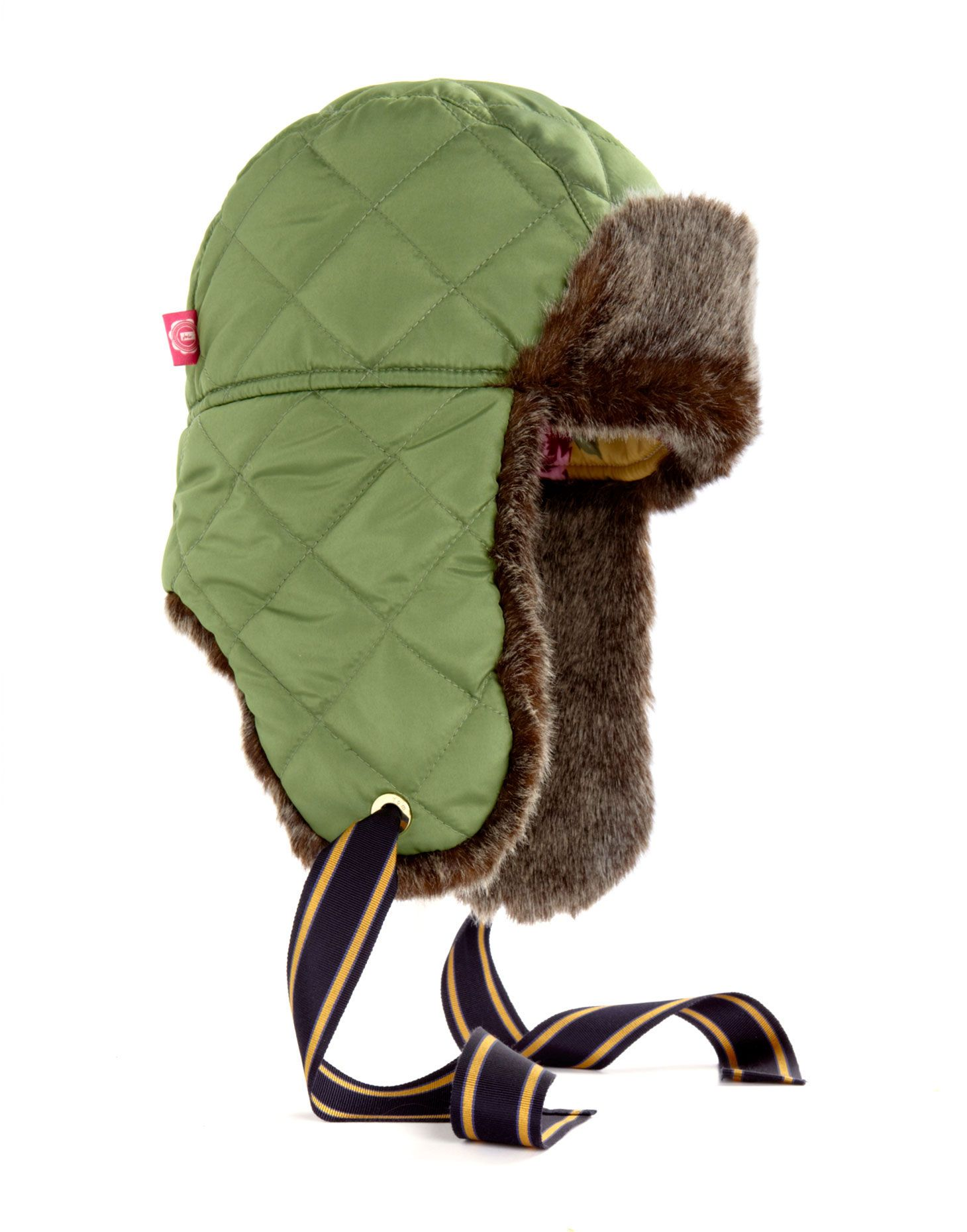 QUILTEDSHERPA Womens Quilted Sherpa Hat - so cute! Love the ribbon! Repin b09c2ed8de0d