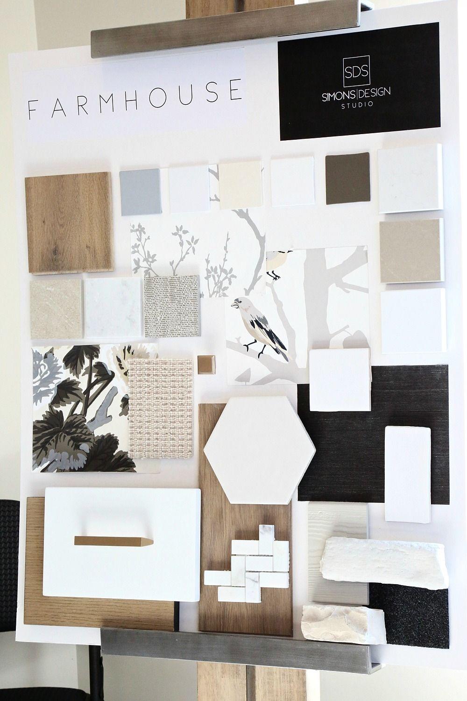 Simons Design Studio Designer Spotlight Interior Design Mood Board Farmhouse Interior Design Interior Design Boards