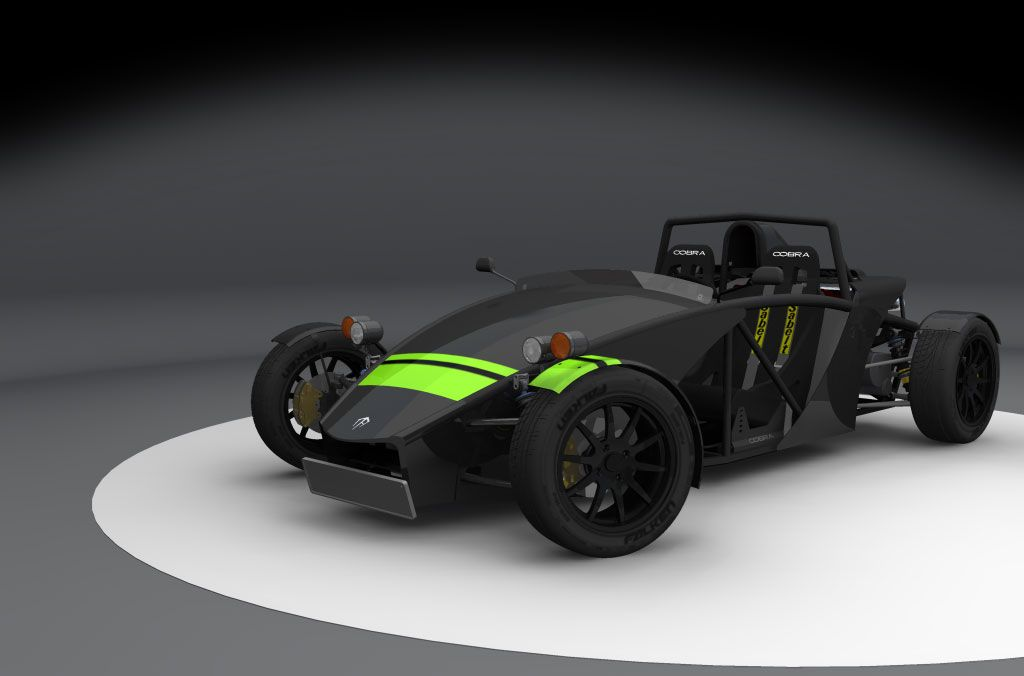 Kit car design in Autodesk Inventor by Mindaugas Petrikas