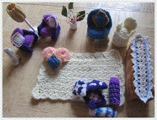 Sweet Nothings Crochet: DOLL-LIKE TOY FURNITURE - 1