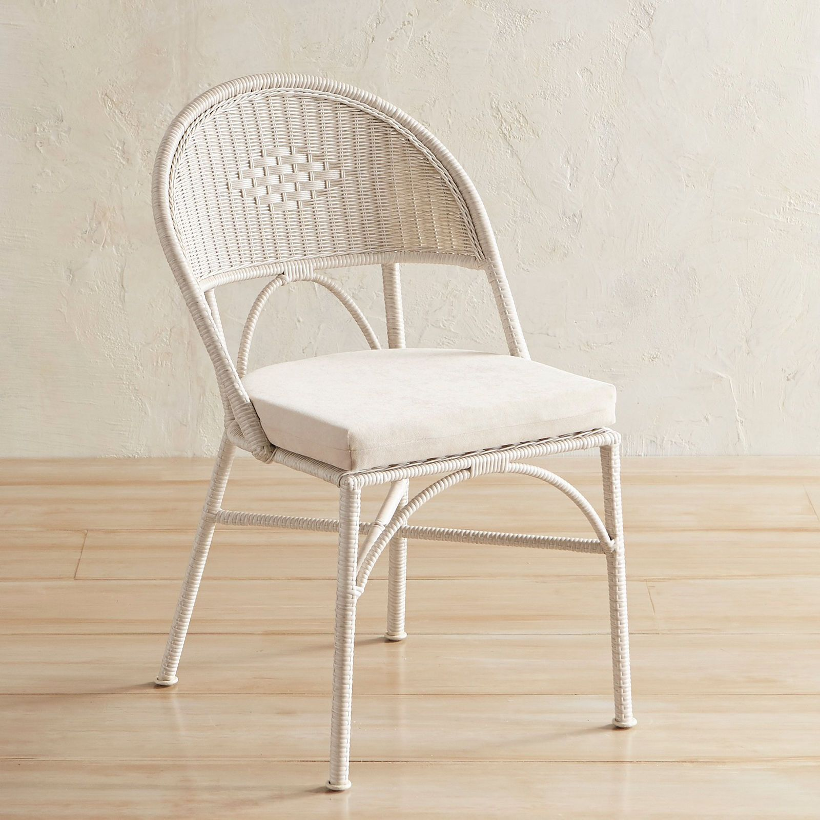 Coco Cove Parchment Dining Chair With Images Dining Chairs