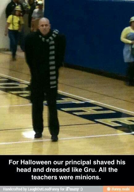 Teacher idea for halloween. Would work for a workplace or team also