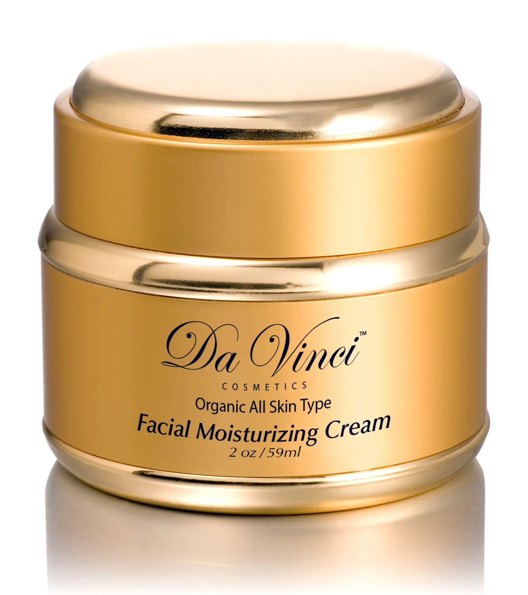 Da Vinci Cosmetics Facial Moisturizing Cream Light