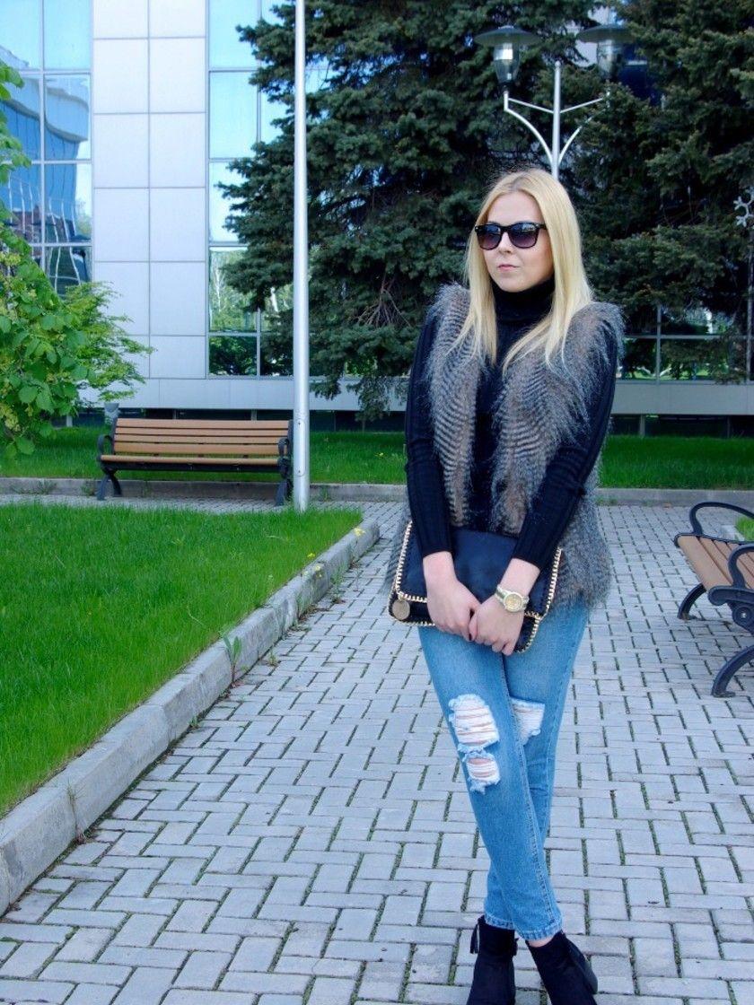 Vest Feather von kate_fashion_schtick auf STYLIGHT