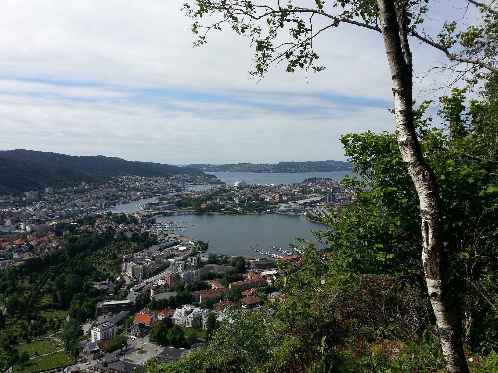 Bergen, Norway.  Photo by Mischalar
