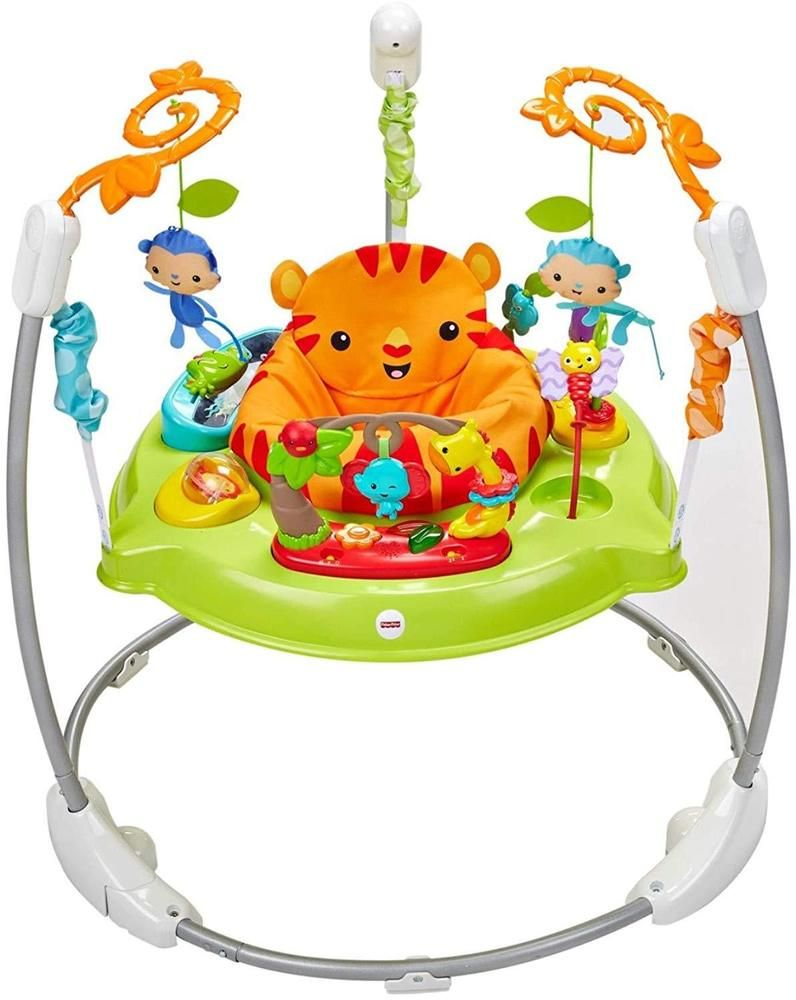 5bb4adbe1 Details about Fisher-Price CBV63 Roarin Rainforest Jumperoo Activity ...