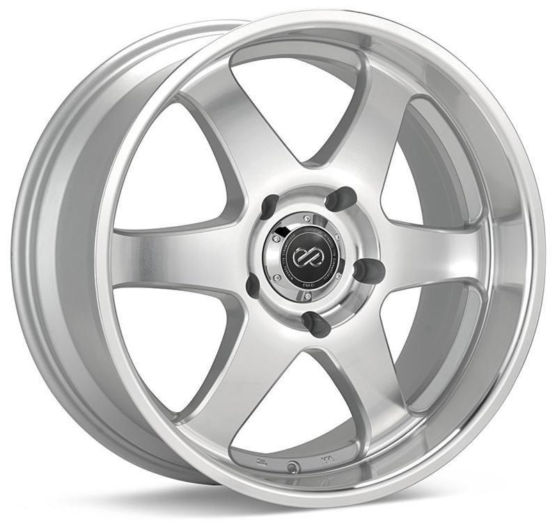 Enkei st6 truck suv silver machined wheel 20x95 rim