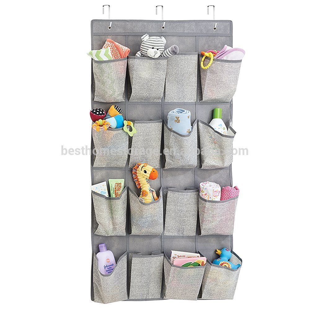 16 Pockets Over The Door Hanging Shoe Sundries Tools Storage Bag View Over The Door Hanging Shoe Bag Le Sort Product Details From Ningbo Kingdom Home Fashion Hanging Storage Pockets Hanging