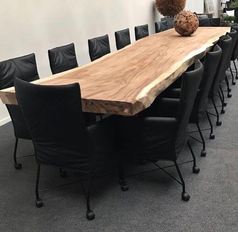 Live Edge Dining Table Live Edge Table Custom Made Live Edge Etsy In 2020 Live Edge Dining Table Dining Table Live Edge Table