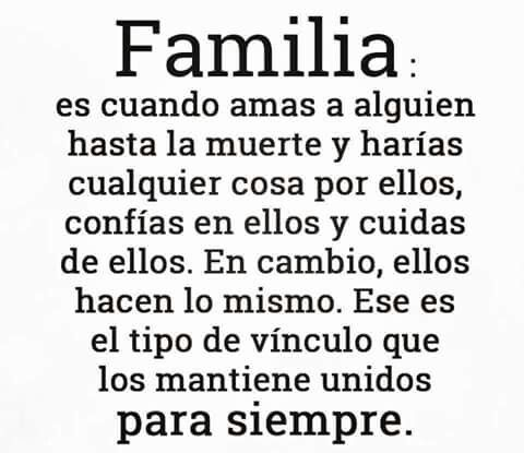 FAMILIA!!!