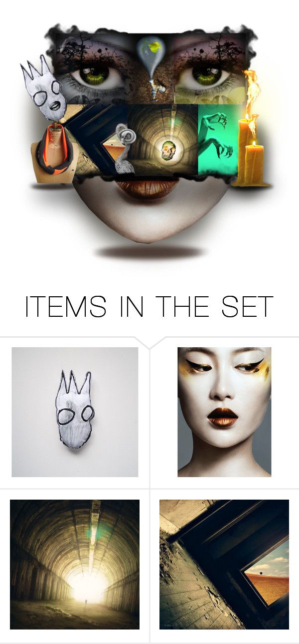 """""""Once upon a time..."""" by alodo ❤ liked on Polyvore featuring art, Once, surreal and laughingnabaa"""