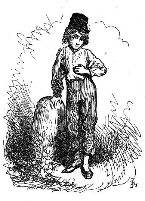 David Copperfield, illustration by J Clayton Clarke
