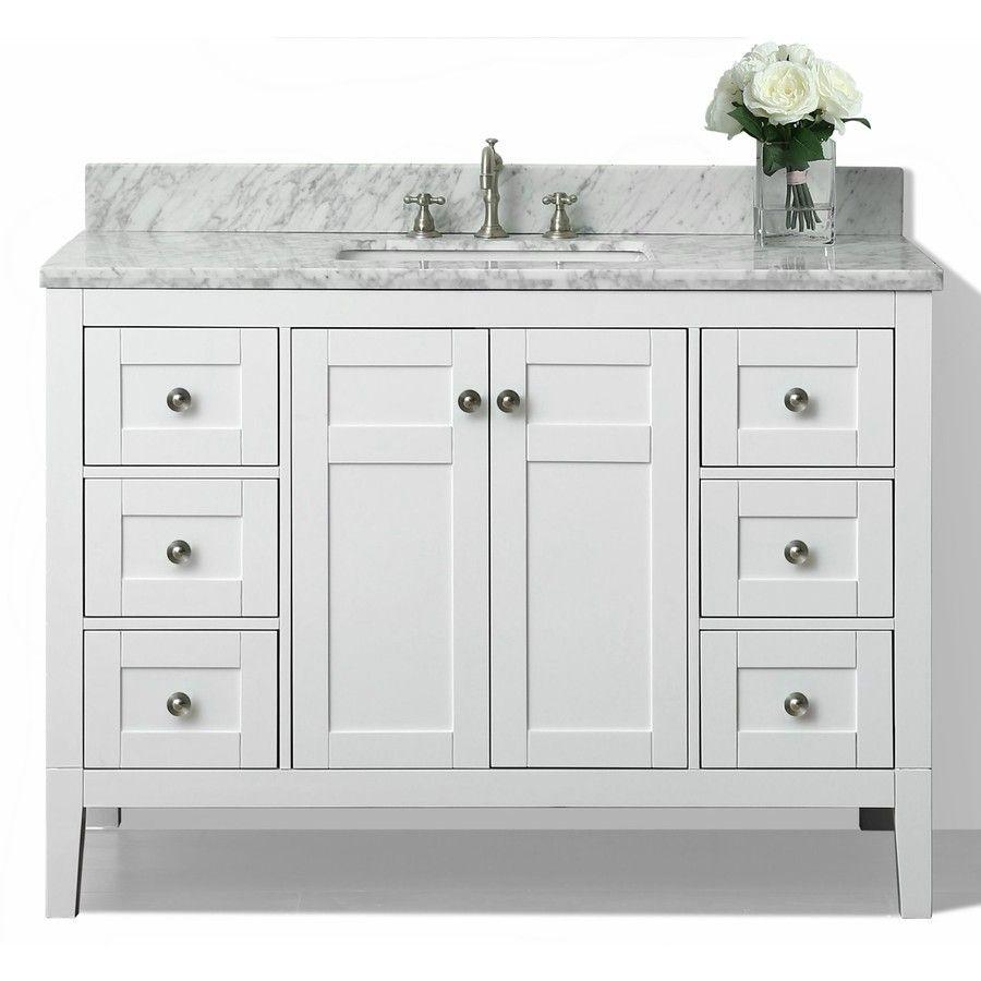 Product Image 1 White Vanity Bathroom Bathroom Vanity Single