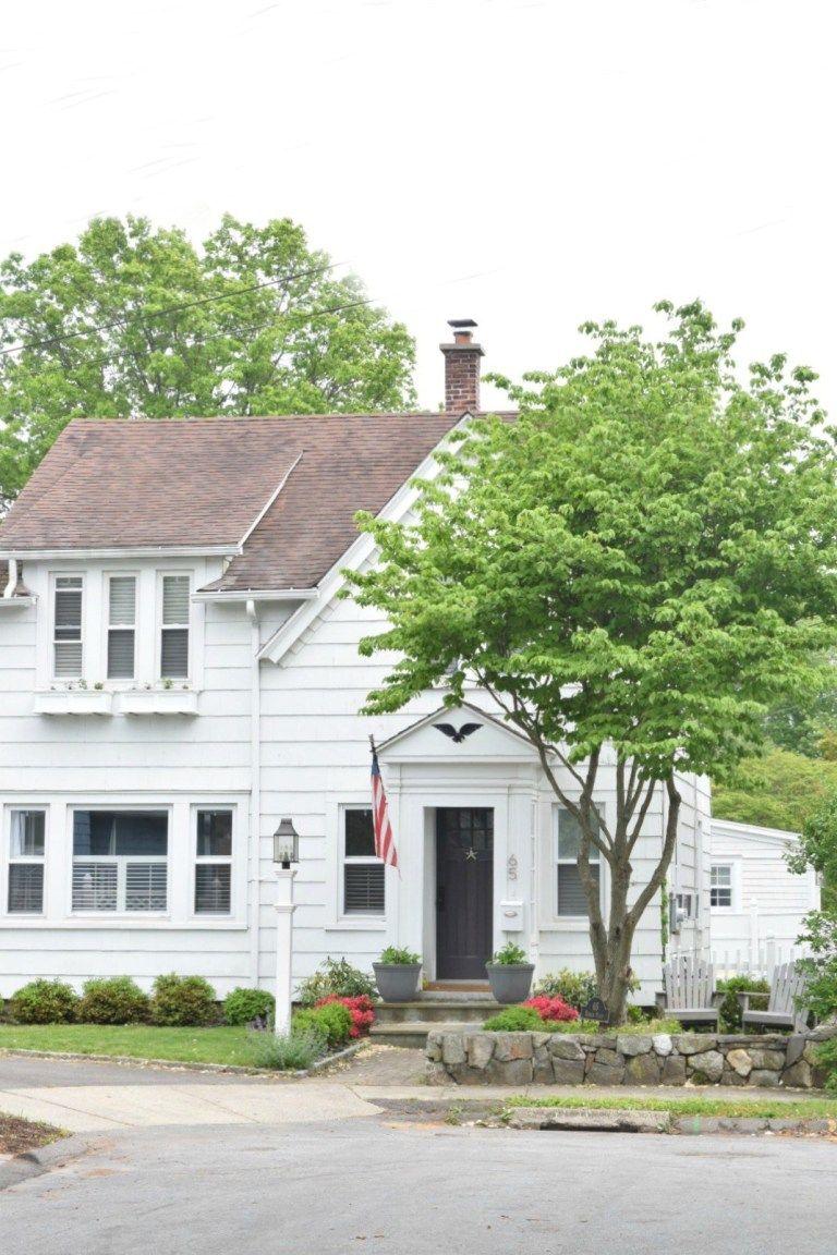 New England Homes Exterior Paint Color Ideas Exterior Siding