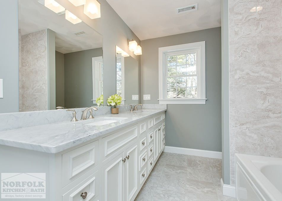 Carrara Marble Bathroom Carrara Marble Bathroom White Cabinetry