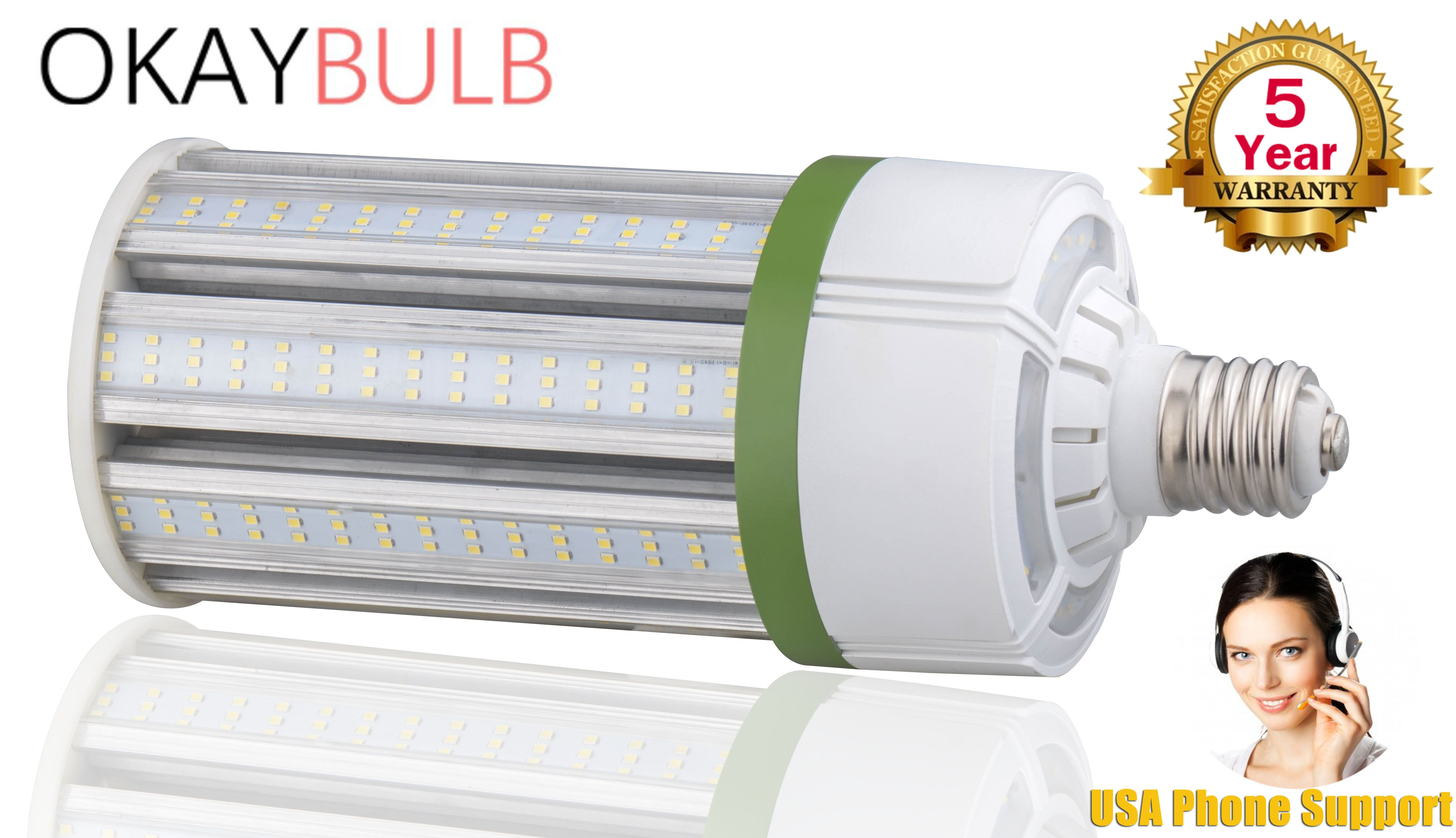 Metal Halide Led Replacement 150w Corn Light Bulb Okaybulb Bulb Light Bulb 150w