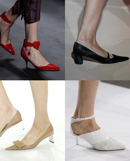Low-Heeled Shoes Spring Summer 2013 -