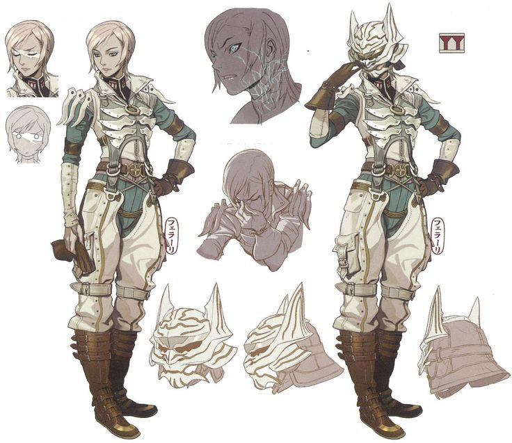 Book Character Design Tips : Final fantasy concept art Поиск в google