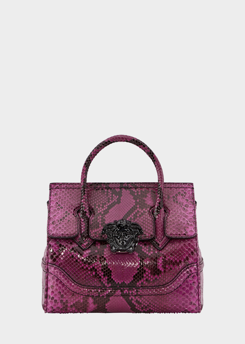 32abeadbd5 VERSACE Python Palazzo Empire Bag.  versace  bags  shoulder bags  hand bags   leather