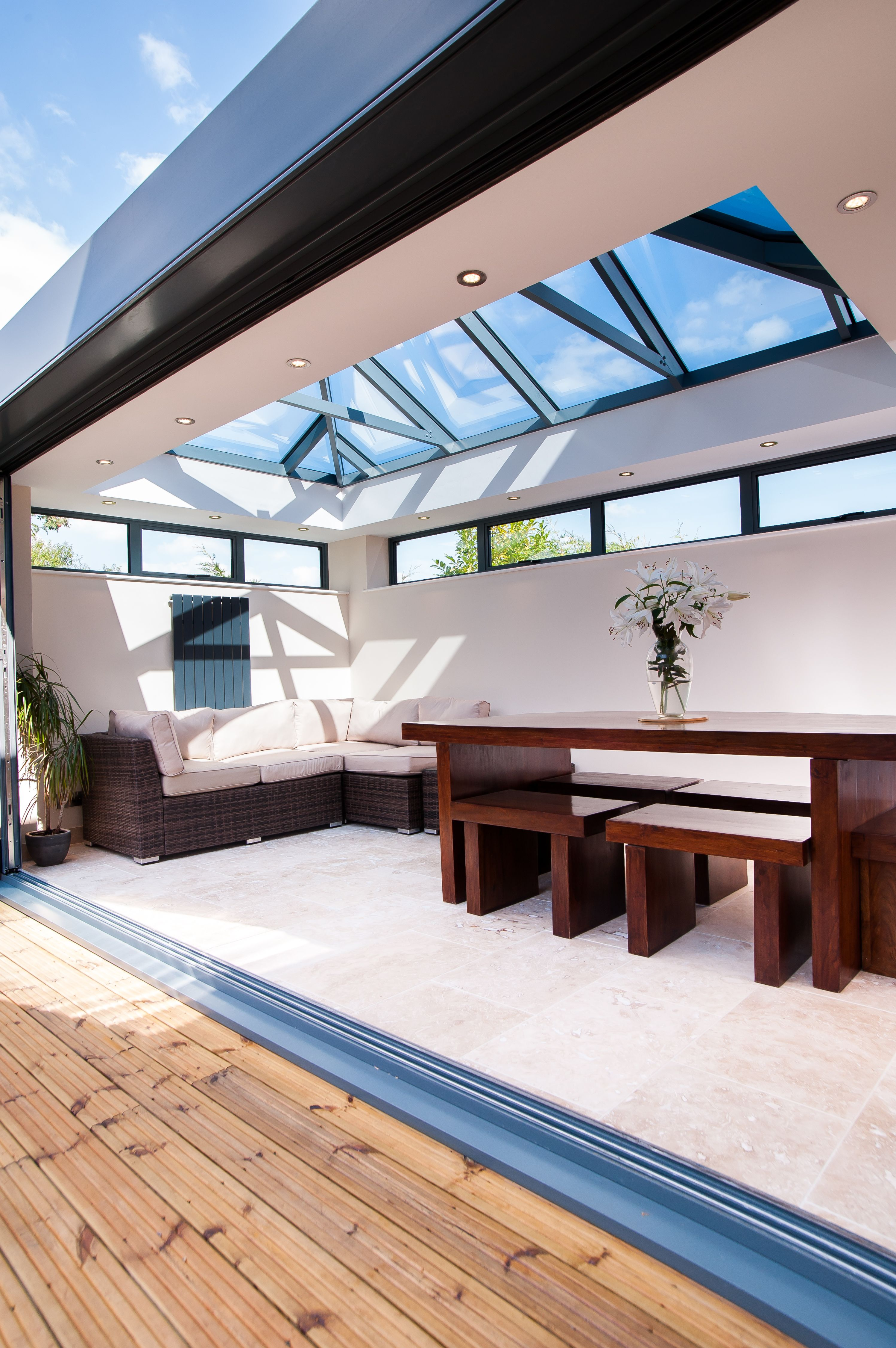 Add A Stylish Energy Efficient Roof Lantern Skylight To