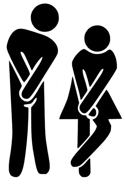 2 Pack Vaggdekor Toalett Wc Symbol Med Bilder Vaggdekor