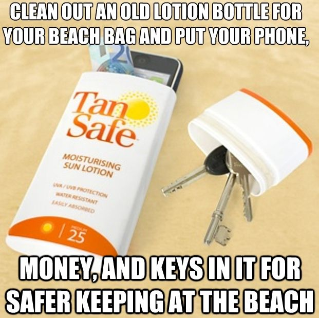 Protect Hide Valuables At The Beach