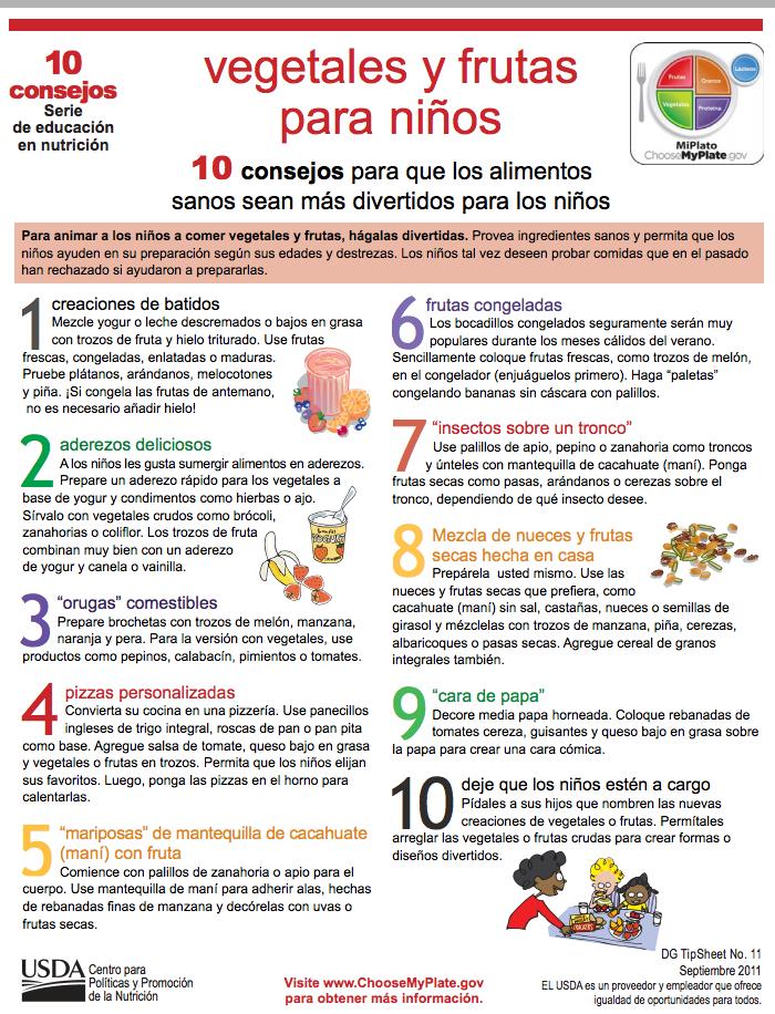 10 consejos para que los alimentos sanos sean más divertidos para ...