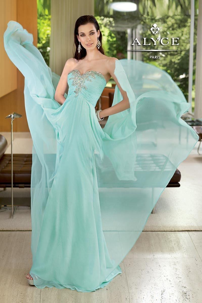 Alyce Paris - Gorgeous Gown   COLOR - Mint   Pinterest   Azul ...