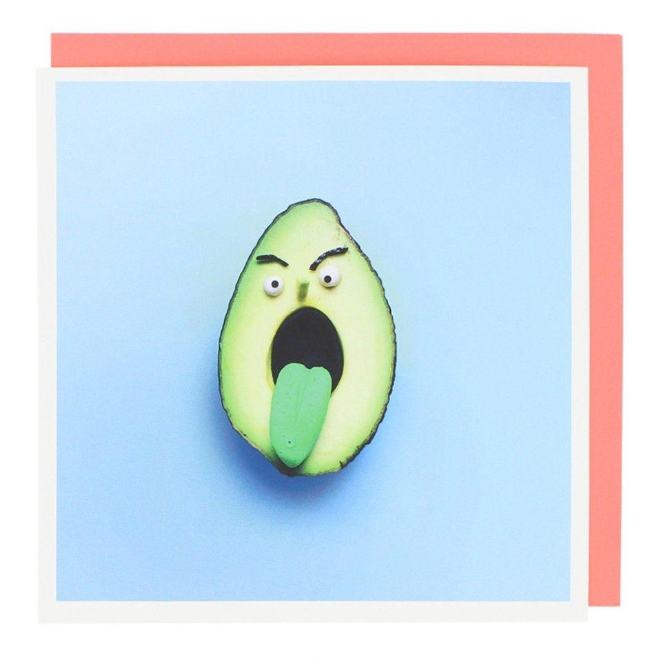 Avocado card Birthday cards, Cards, Birthday