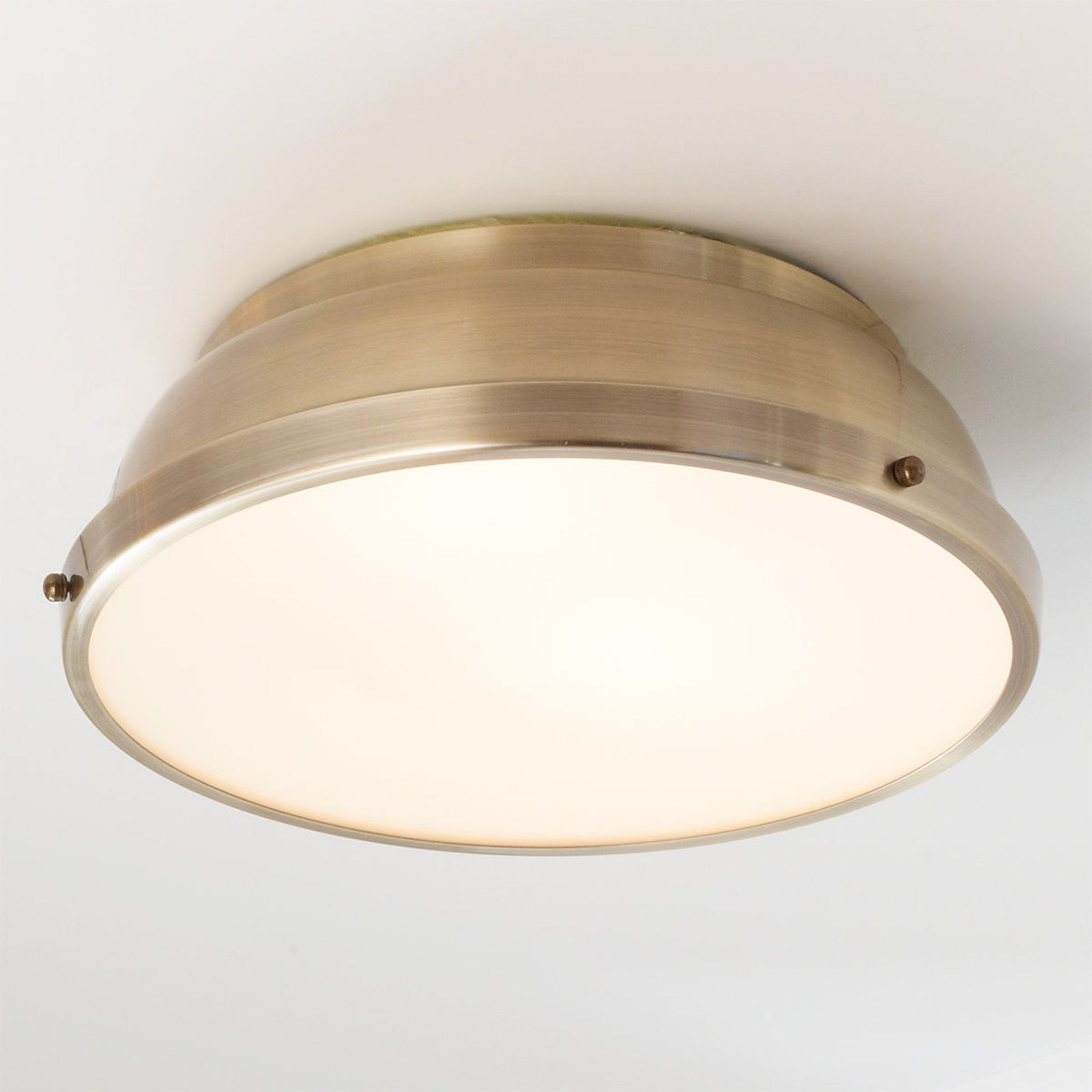 Clic Dome Metal Ceiling Light In