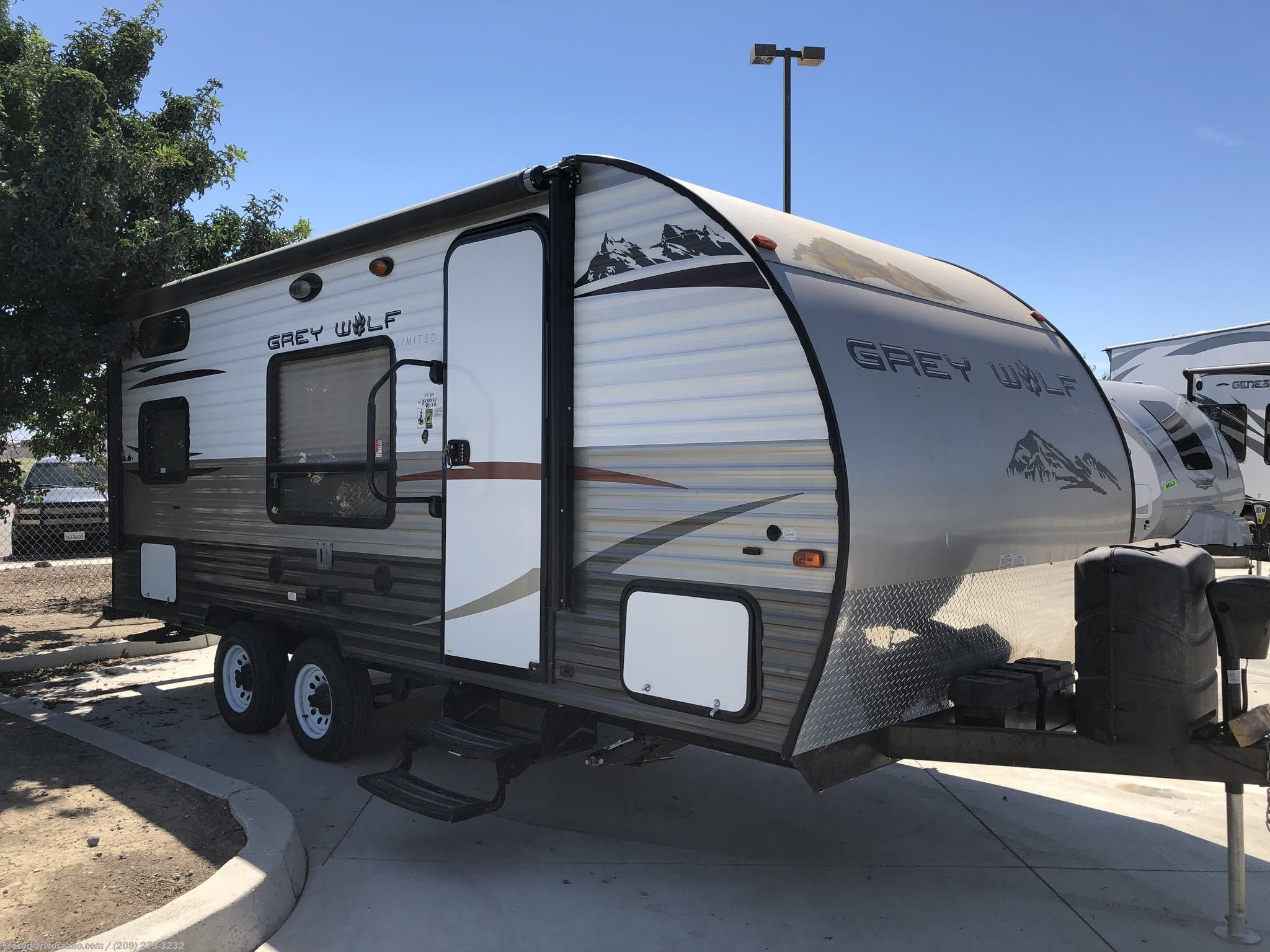 Sold Used 2015 Grey Wolf Travel Trailer Travel Trailer