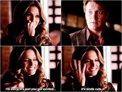 "Castle theory. ""It's kinda cute."" (Room 147)"