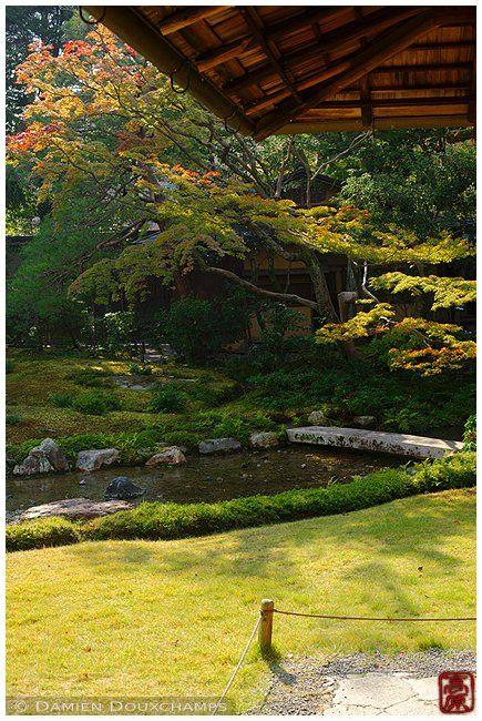 Stone bridge in Murin-an gardens