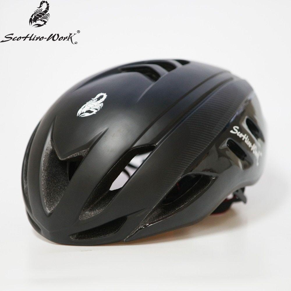 Double Layer Pc Cycling Helmet 2019 Casco Mtb Mountain Road Bike