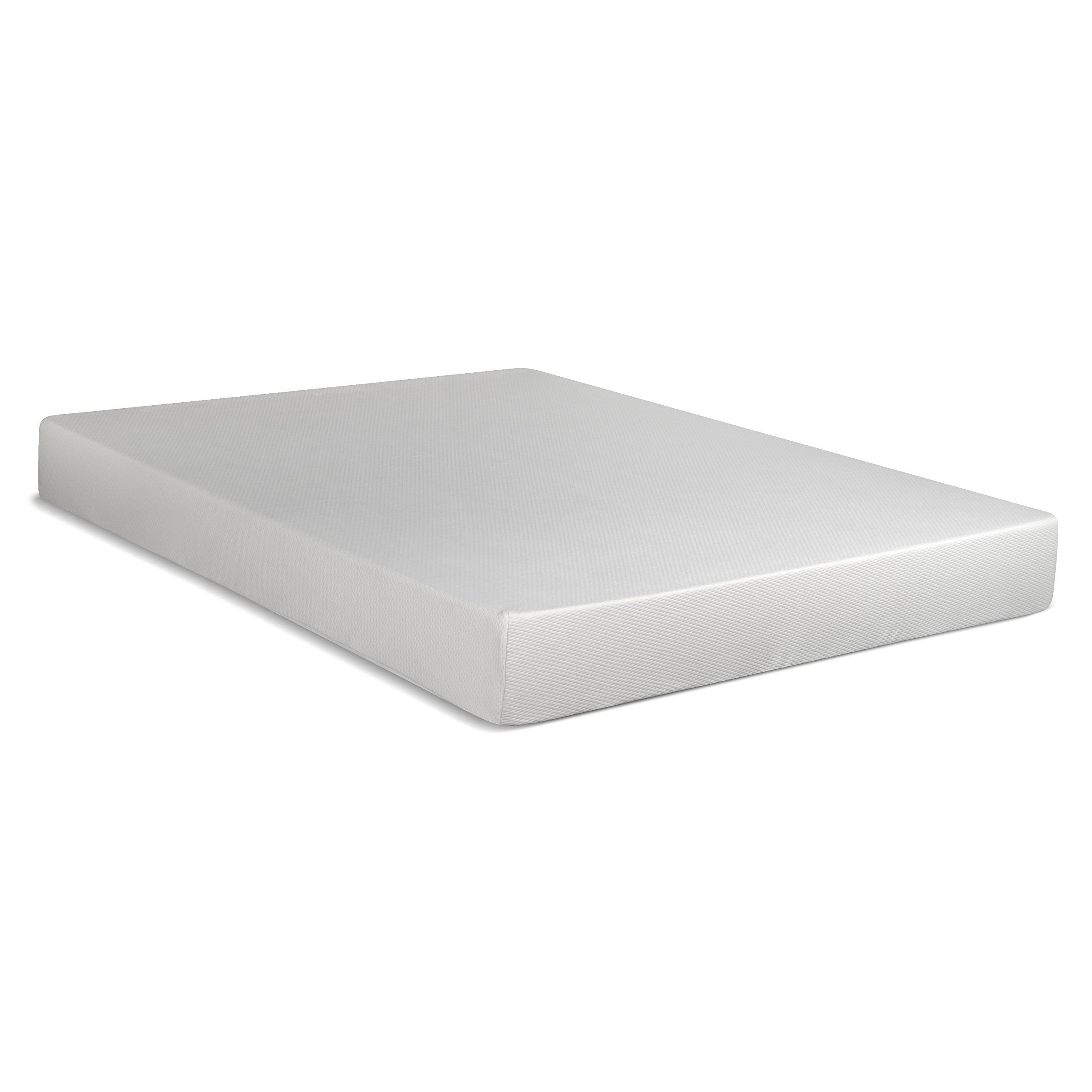 serenia sleep 8 inch memory foam rv mattress short queen