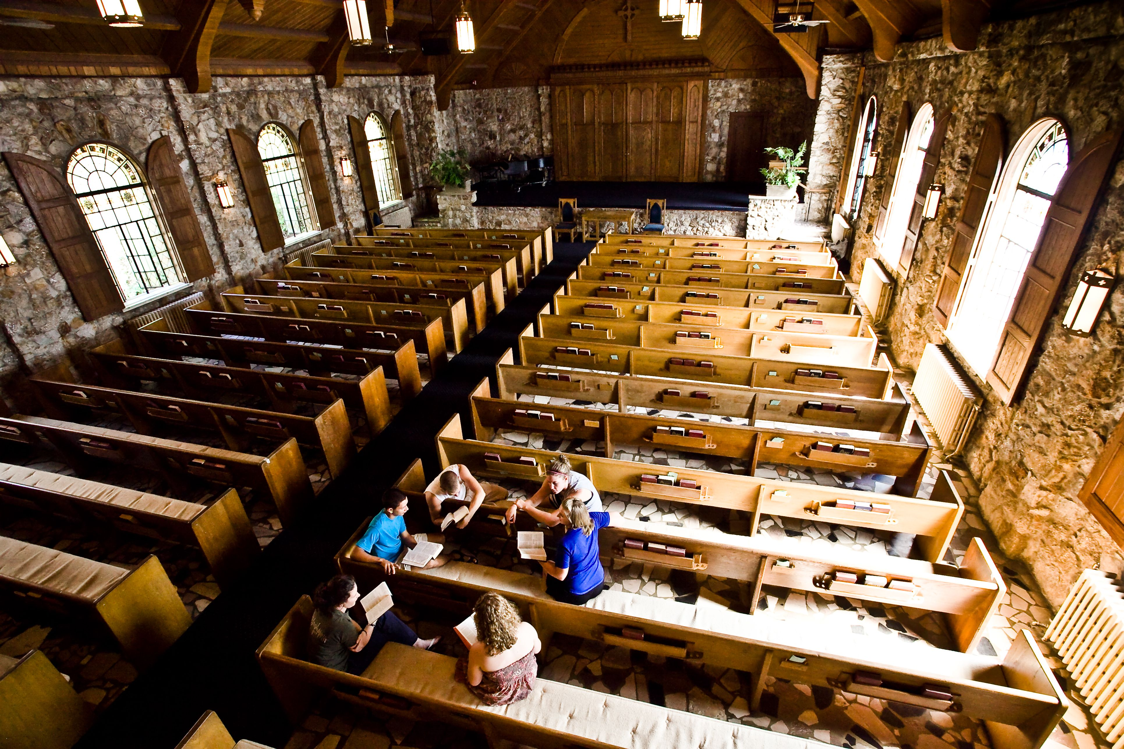 Gaither Chapel Montreat Montreat College College Student Life