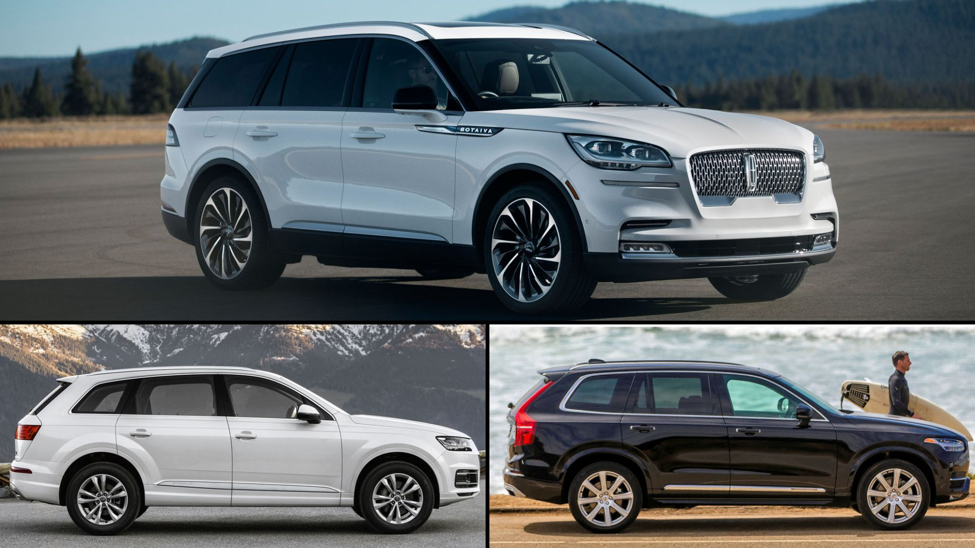 Five Thoughts You Have As 2020 Lincoln Aviator Vs Audi Q7 Approaches Lincoln Aviator Volvo Xc90 Audi Q7