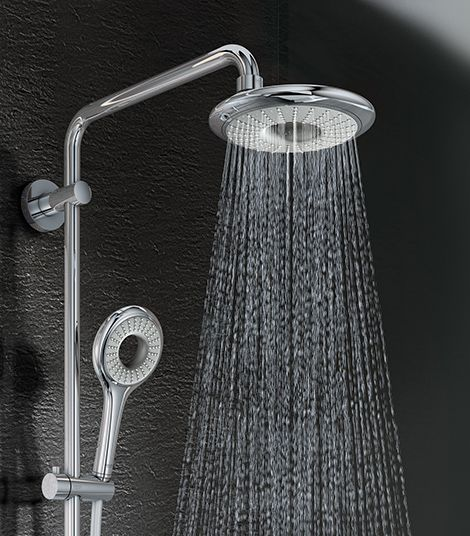 Grohe Rainshower Icon Showerhead Is A New Addition To Grohe