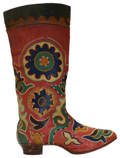 наверное, татарские народные сапоги картинки вот