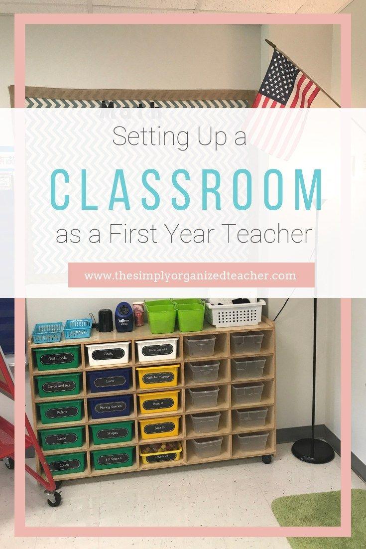 First Year Teacher: Setting Up a Classroom ·