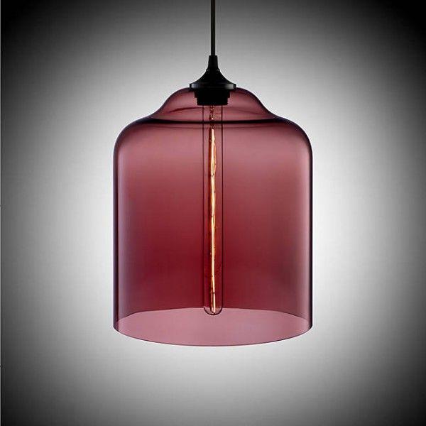Luminaire superbe Marsala et transparence marsala couleur color