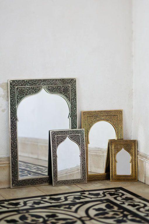 Espejos de estilo rabe estilo rabe pinterest - Decoracion estilo arabe ...