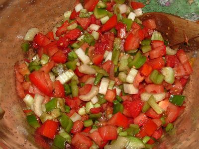 Frugal Food Friday: Green Pepper Tomato Salad