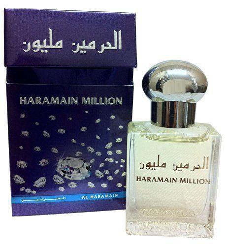 "Limited edition ""Haramain Million"" 15ml Pure Perfume Oil/Attar…"